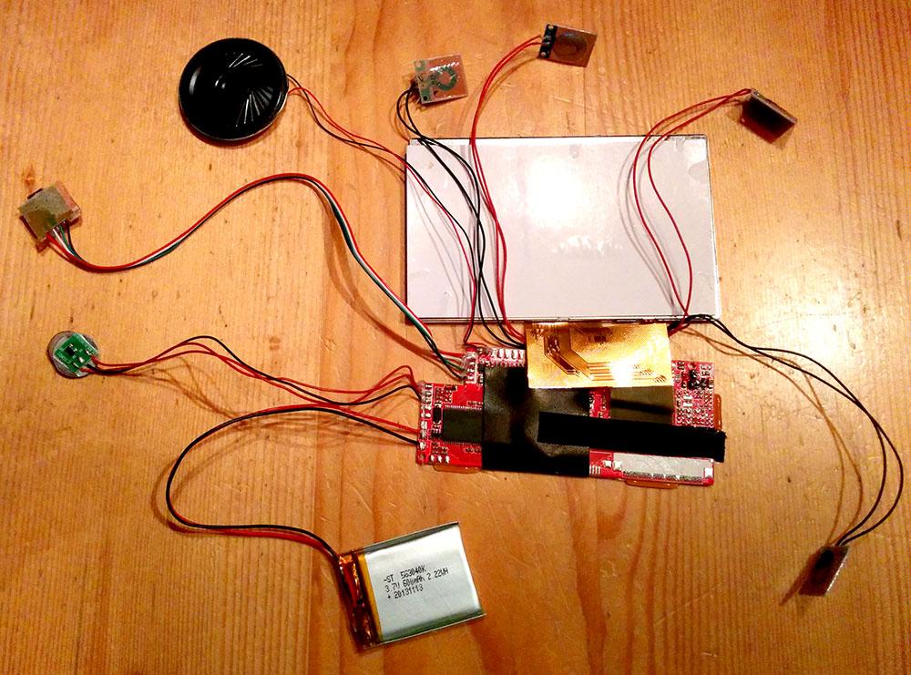 Flatscreen Elektronik