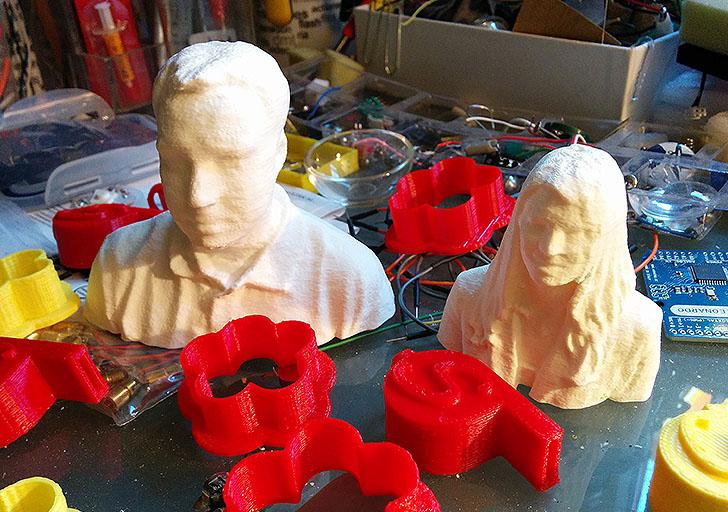 3D Druck Hannes und Michaela